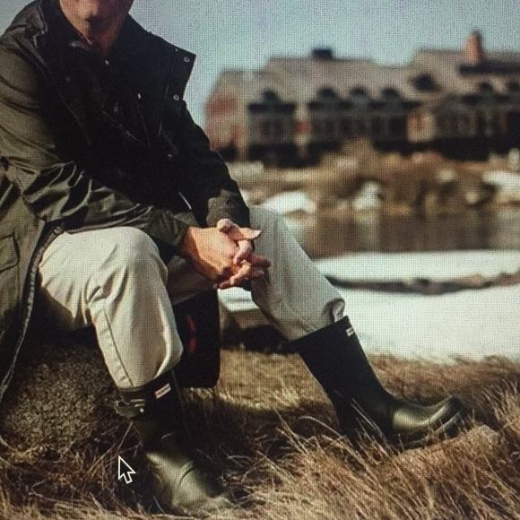 5dda80ddd4f Hunter Original Short Men's Rain Boot NWT 12 Boutique